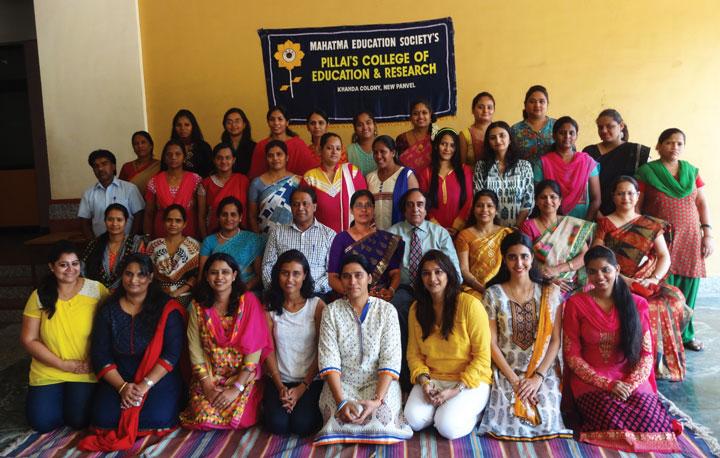Class of M.Ed. 2014-15